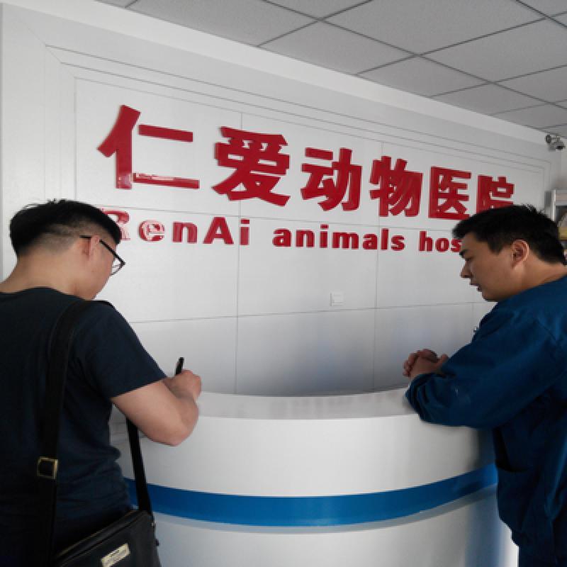 动物诊疗机构进行