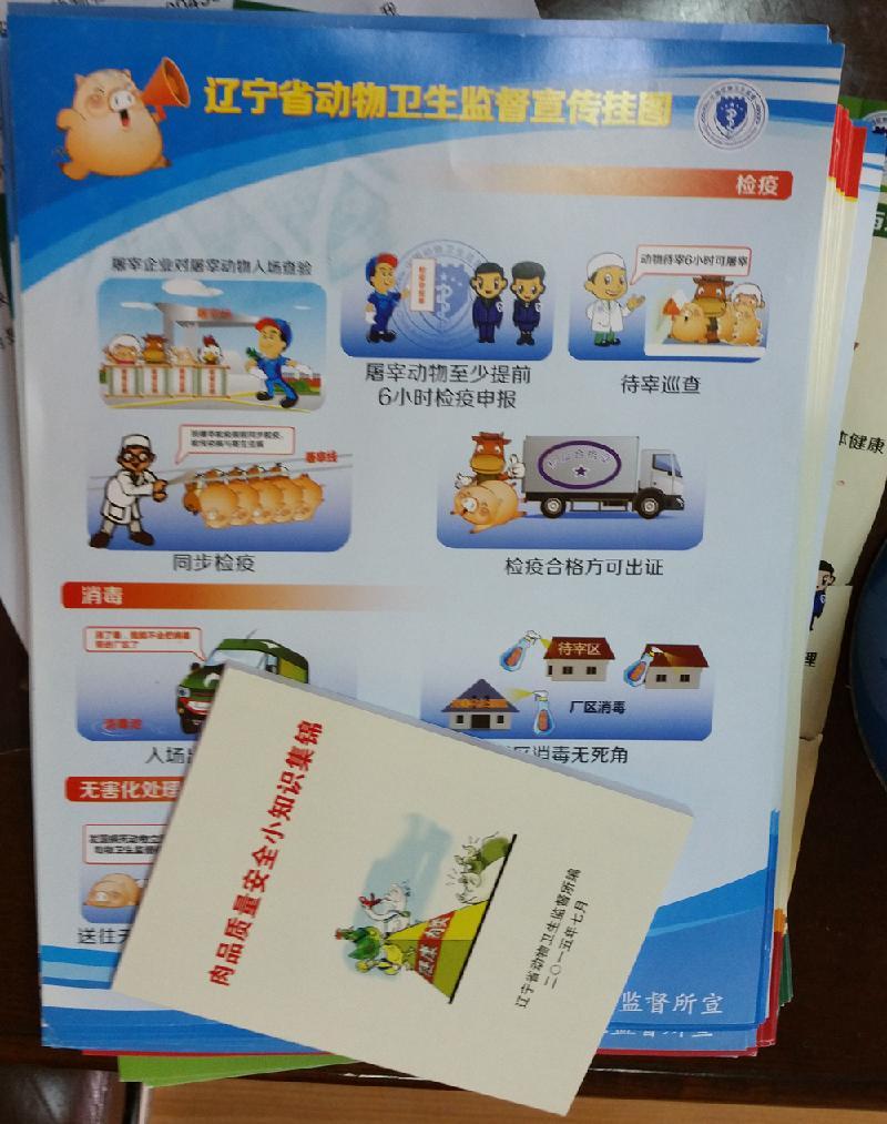 """15政务公开日""""活动的方案要求,在泉园广场的一角放置了""""辽宁省动物"""